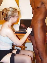 Amateur Wives Loving Interracial Sex